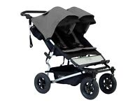 NEW Mountain Buggy Duet Double Pushchair