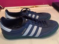 Size 9 Adidas Valencia Trainers & Size 9 Converse Low Backs
