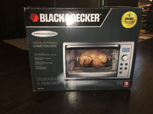 Digital Convection Toaster Oven -Black& Decker - Stainless Steel