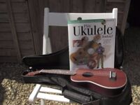 New Kohala Ukelele with case and course book (I have used it only once :-D)