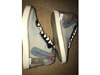 Next boys high top trainers size UK1 new with Tags rrp £23