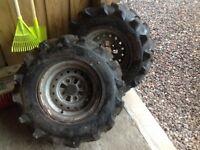 Honda quad wheels and tyres