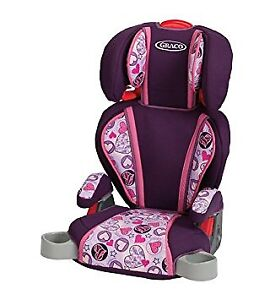 Graco TurboBooster Car Seat Wild Hearts