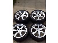 "Nissan 350z Rays Engineering Alloy Wheels 18"" 5x114.3"