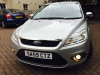 ford focus 1.6 tdci econetic 2009 59 plate mot 1year immaculate condition