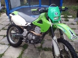 PRICE DROP this week only. SWAPS OR OFFERS. Kawasaki KLX 300R. MOT'D. F.S.H.
