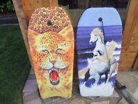 Surfing Body boards, pair in good condition