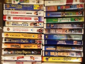 144 VHS Tapes - Classic Movies