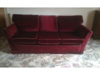quality hand made 3 piece suite for sale
