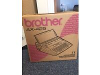 Brother Ax-425 Electrical Typewriter/Word Processor