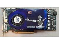 PC Graphics card sapphire radion x1950 pro 512m gddr3 pci,e