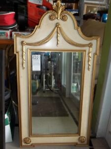 Gold tone wall mirror for sale