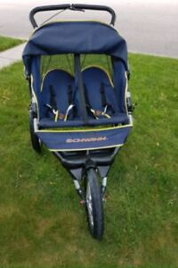 Schwinn Arrow Double Jogging Stroller