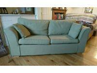Green Fabric Sofa Bed
