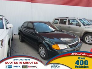 1999 Mazda Protege LX | FRESH TRADE IN | AS-IS SPECIAL