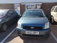 Ford fusion for sale 11 months mot