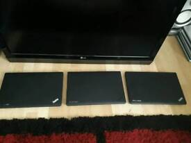 Joblot Of 3 Lenovo Thinkpad E530 Laptops Mixed Dual CPU Or I3 Fully Working But Missing Parts