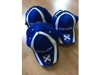 Scotland baseball type hats brand new