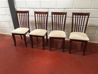 4 DINNING CHAIRS FREE DELIVERY IN LIVEPROOL