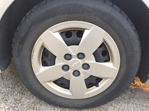Winter tires with rims  for sale 195 65 15