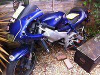 Aprilia 125 non runner project bike limited addition