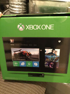 XBOX ONE W/ KINECT 500GB MINT CONDITION