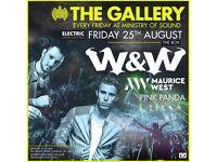 The Gallery: W&W