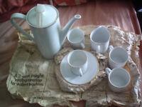 German Arzberg coffee service..for 4 with milk jug..