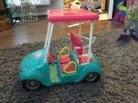 Barbie Beach Car