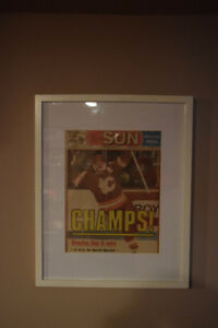 Calgary Flames Stanley Cup Win Newspaper Cover