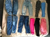 Girls clothes 1-2years 12-18 18-24