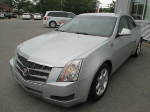2009 Cadillac CTS AWD + CUIR PLUS TOIT OUVRANT!