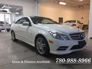 2012 Mercedes Benz E550 Coupe, Fully loaded, super rare!