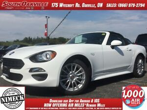 2017 FIAT 124 Spider Classica | $185+TAX BW | BACKUP CAMERA | BL