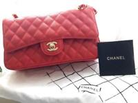 Medium red Chanel