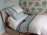 Single bed electric adjustable