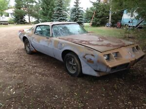 Rare 1980 Turbo Trans Am Project or parts $1600 swap or trade