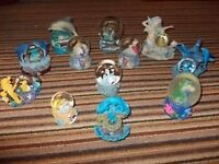 Collection of 12 Sea Inspired Snow Globes