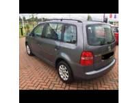 Vw touran 1.6 06 plate 7 seater
