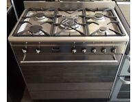 Smeg 90cm Stainless Steel Range Cooker SUK81MFX8