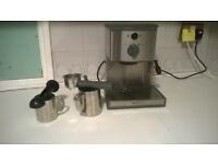 professional coffee maker + 30 minutes of training