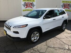 2015 Jeep Cherokee Sport, Automatic, Bluetooth, Only 51,000km