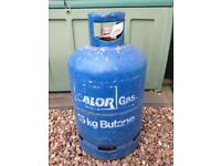 Calor gas cylinder 15kg almost full