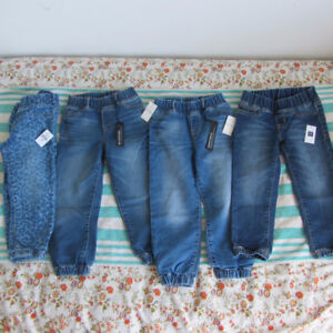 Brand new with tag, Gap size 5 fall jeans for toddler girl