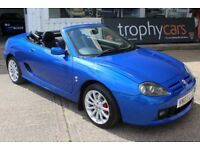 TROPHY CARS MGTF 160 ONLY 16,000 MILES,ALL HAVE NEW HEADGASKETS,1YR WARRANTY & RAC,50 MGF MGTF STOCK