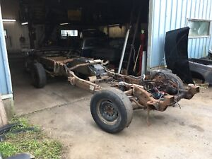 2001 Chevy Silverado 2500HD rolling chassis