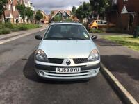 Renault Clio expression 1.4 automatic 2003 (53) silver v low mileage