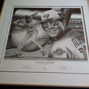 Roberto Alomar by Daniel Parry