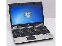 HP 8440P ELITEBOOK LAPTOP INTEL CORE i7 2.67ghz 4GB WIN 7