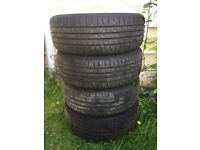 4 x tyres 205 50 R17
